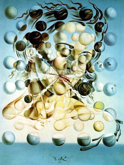 Сальвадор Дали (Salvador Dali). Галатея со сферами (Galatea of the Spheres).